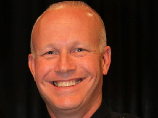 George Crum initially served as Cathedral City police chief from 2014 to 2017. He returned last week as the permanent chief after serving on an interim basis since earlier this year.