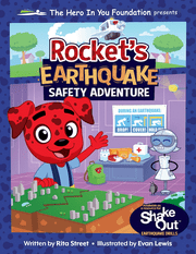 Rocket the Safety Spokesdog presents situations that children might encounter but in a way that makes them feel empowered.