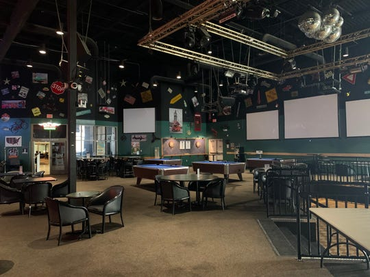The Liberty Center at NAS Pensacola has a game room  with TV monitors, pool tables, a bar and seating. The center is primarily for single, unaccompanied sailors ages 18-22 who join the military right out of high school.