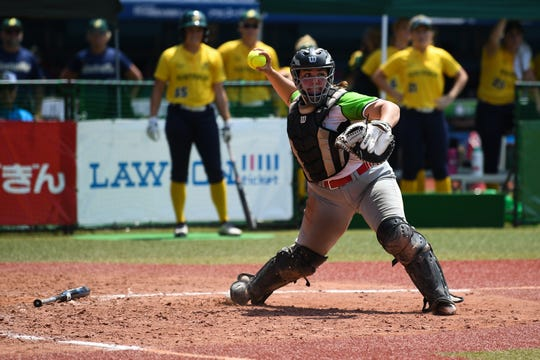 Former ASU catcher Sashel Palacios will play for Mexico in the 2020 Tokyo Olympics. Her father was born in Mexico and played for the Mexican national baseball team.