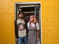 Sam Means and Anita Means purchased the 1927 Phoenix building that houses the new Hello Merch warehouse in 2019 in Phoenix.