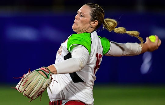 Dallas Escobedo is among five former Arizona State and Arizona softball players who will be playing for Mexico at the 2020 Tokyo Olympics.