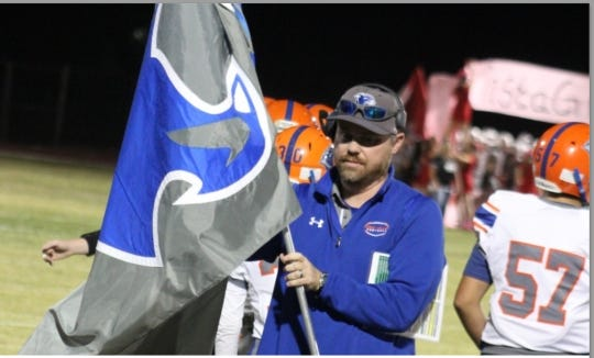 Wade Krug says he's stepping down as head coach of Chino Vallley High School football to spend more time with his family.