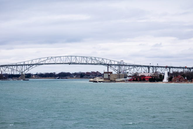 Blue Water Bridge file photo, February 2020