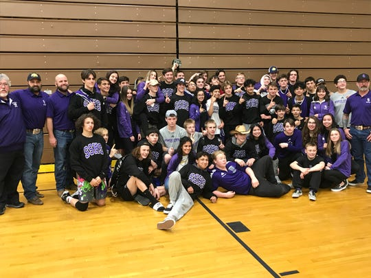 Spanish Springs beat Reed on Jan. 26, 2020 for its 13th straight league wrestling title.