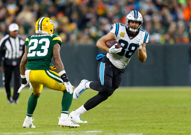 Carolina Panthers tight end Greg Olsen is now a free agent and he plans to visit the Bills this week.