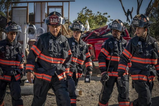 """The firefighters of Austin were not real impressed by the firefighters of """"9-1-1: Lone Star,"""" led by Rob Lowe."""