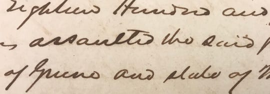 A slave named Mary sued for her freedom in Greene County in 1843. She said her owner in Greene County assaulted her. In her lawsuit, she said a former owner in Kentucky freed her in his will. But she was not freed.