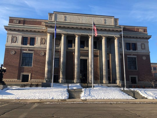 The Stearns County Courthouse is pictured Tuesday, Feb. 4, 2020.