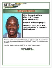 Missing persons bulletin