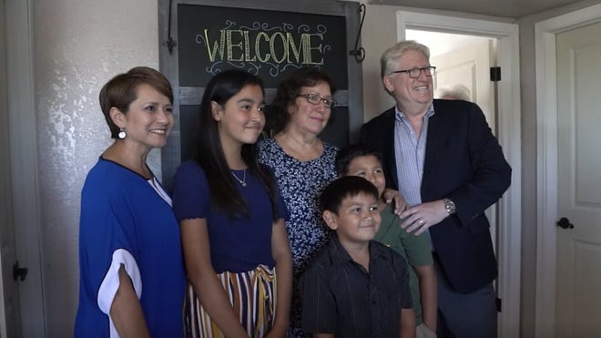 """The Flores family will have a more natural transition, thanks to all of those involved in the """"Pay It Forward"""" event."""
