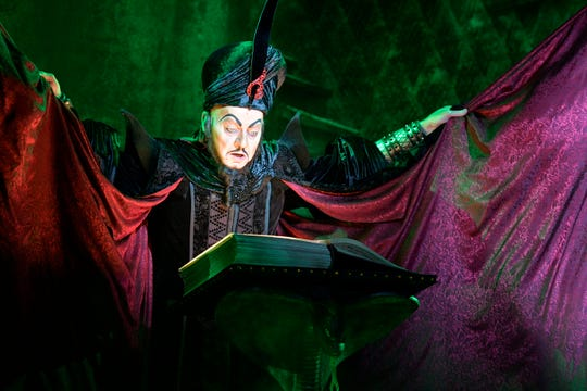 Jonathan Weir as Jafar in Aladdin
