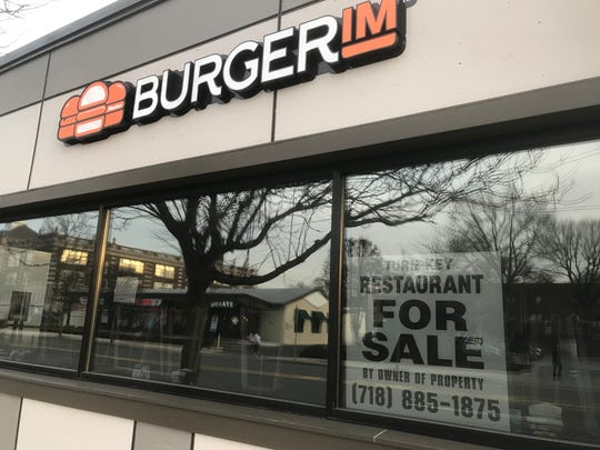 The Burgerim location on West Boston Post Road in Mamaroneck was in business for only seven months. It is seen Jan. 30, 2020.