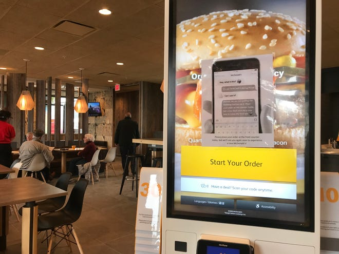 The Wisconsin Rapids McDonald's reopened Jan. 31, 2020. The interior has been remodeled, and kiosks are available for guests to place their orders.