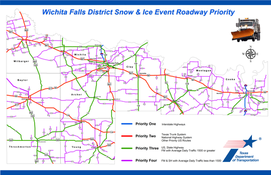 TxDOT Snow Priority Map