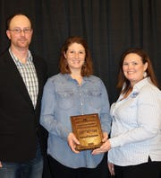 Travis and Krista Klinkner of Vernon County represented Wisconsin in the American Farm Bureau Achievement Award contest. The Klinkners are organic dairy farmers from Genoa.  Participants for this contest must earn a majority of their income from on-farm operations and are evaluated on their understanding of current issues affecting agriculture and leadership and involvement in Farm Bureau and other civic organizations.