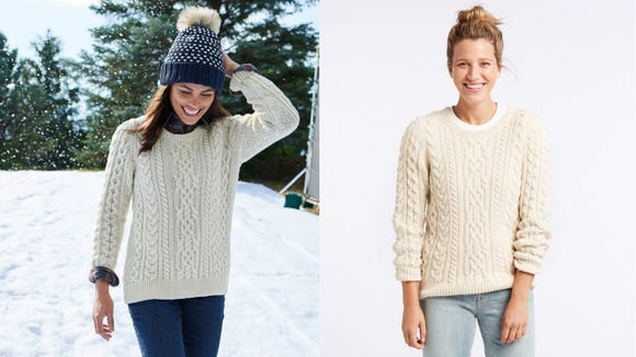 The softest Irish sweater you'll wear.