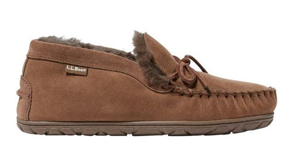 These ankle-high mocs are ideal for home or running errands.