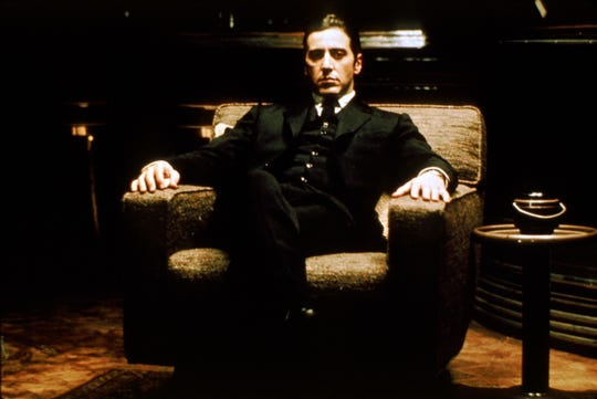 """Al Pacino was a little-known actor when he was cast in the immortal role of Michael Corleone, the youngest son in the Corleone crime family, in 1972's """"The Godfather."""""""