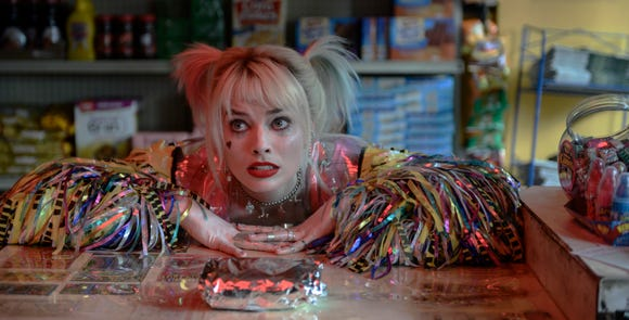 "Margot Robbie reprises her ""Suicide Squad"" character, who adores egg sandwiches and chaos, in ""Birds of Prey (And the Fantabulous Emancipation of One Harley Quinn)."""