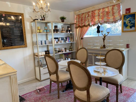 The Parisian Tearoom sells hot chocolate from the famed Angelina cafe in Paris, as well as fine china tea sets by the Australian designer Cristina Rae.