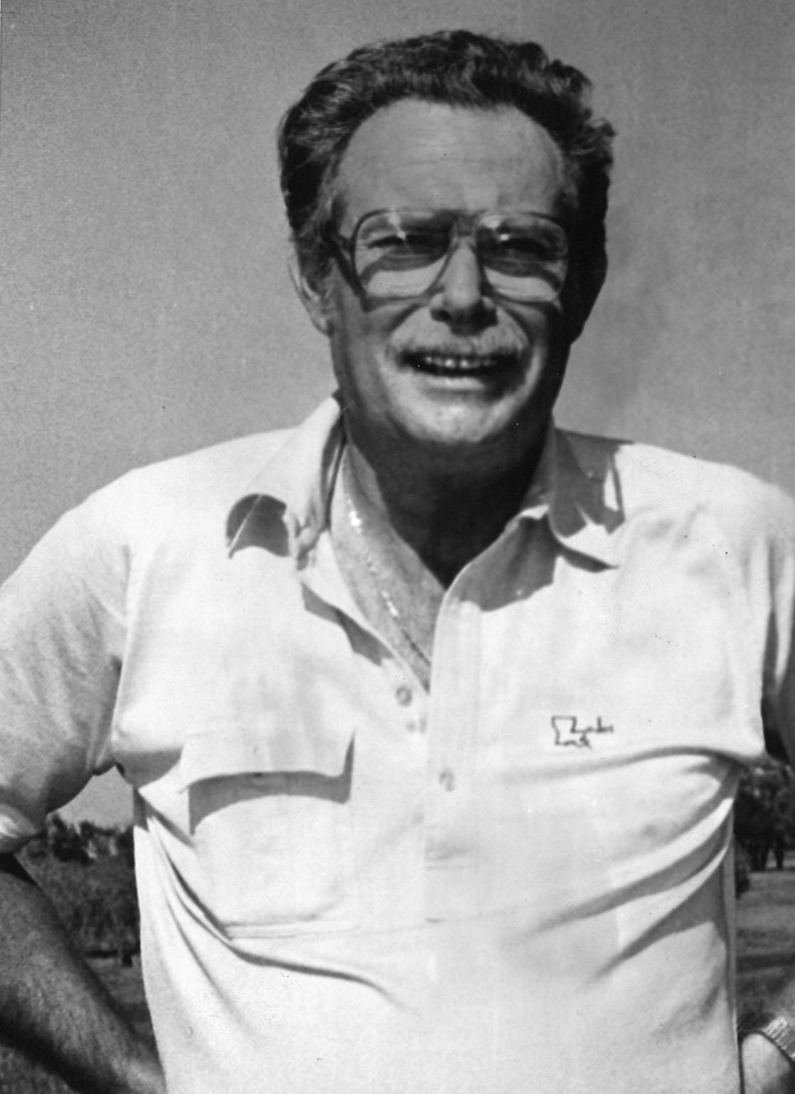 Frank Sheffield back in the day was involved with the pro golf tournament at Fairway Oaks Golf & Racquet Club. He is an avid golfer himself.
