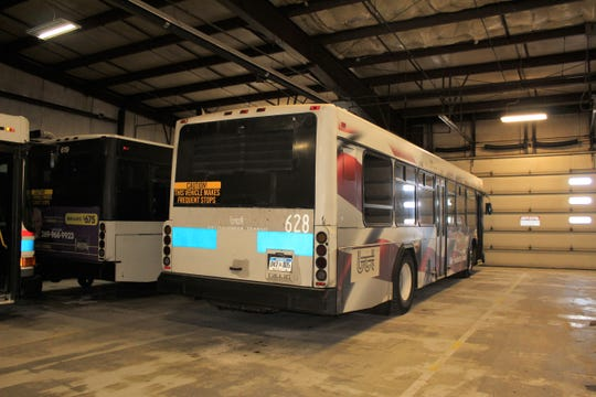 Battle Creek has 13 city buses. Many of them are over a decade old and easily have over one million miles on them, Public Transit Director Mallory Avis said.