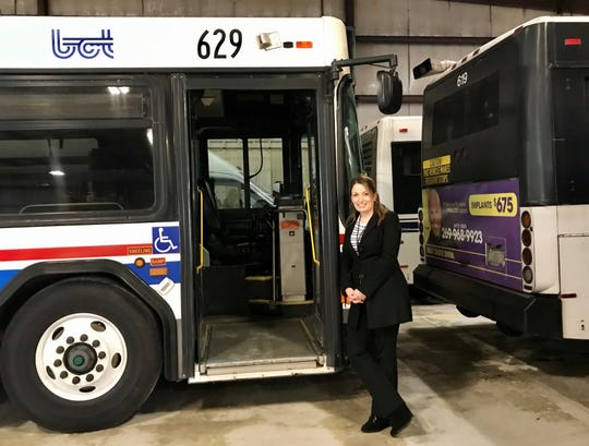 Public Transit Director Mallory Avis hopes that state grant funding will help Battle Creek meet the transportation needs of residents.