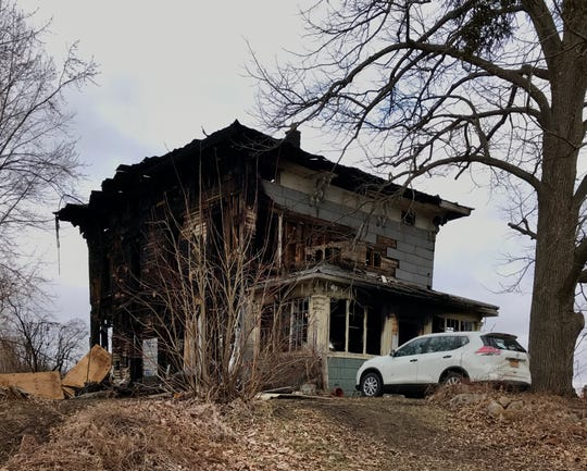Two people died in a fire at 3320 County Route 28 in the Town of Reading on Tuesday.
