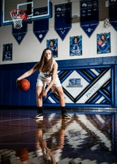 Alexis Bailes is one of the most talented young athletes in the area, but what some people may not know is that she does it all with only one eye.
