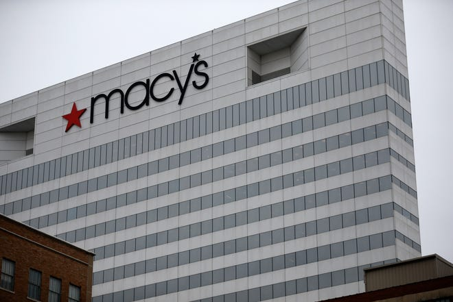 A view of the Macy's nationwide headquarters in downtown Cincinnati on Wednesday, Feb. 5, 2020. The department store company confirmed Tuesday that it will be closing its downtown office and plans to cut 2,000 corporate jobs and 125 stores over the next three years.