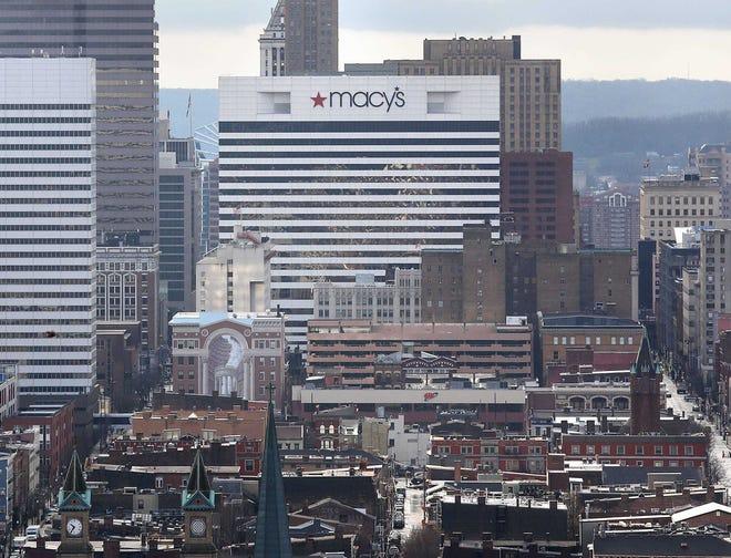 Macy's Downtown headquarters in Cincinnati.