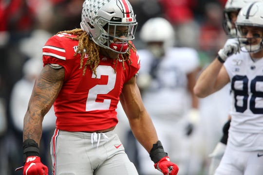 2. Washington: DE Chase Young, Ohio State – I suspect new coach Ron Rivera will do the appropriate leg work on Tua Tagovailoa, but in the end Young will be too much to good to pass on.