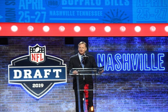 Free Press sports writer Dave Birkett peers into his crystal ball to predict who the Detroit Lions will select with the No. 3 pick in the 2020 NFL draft: