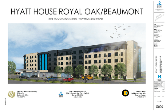A new Hyatt House is opening at Woodward Corners in Royal Oak.
