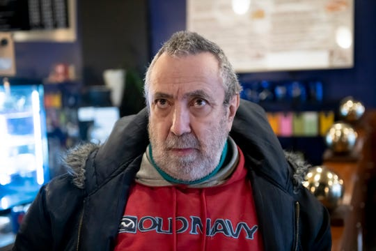 Michael Farina, of Hazel Park, talks about his reaction to the news that President Donald Trump was acquitted of both impeachment charges by the U.S. Senate while visiting the Java Hutt coffee shop, in Ferndale, February 5, 2020.