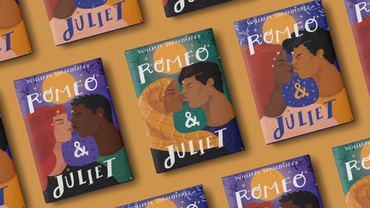 """Diverse Editions,"" a joint project between Barnes & Noble and Penguin Random House, featured 12 texts, including William Shakespeare's ""Romeo & Juliet."""