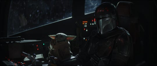 """A second season for """"The Mandalorian."""" is coming in October and Disney said the priority for """"Star Wars"""" going forward is through the streaming service."""