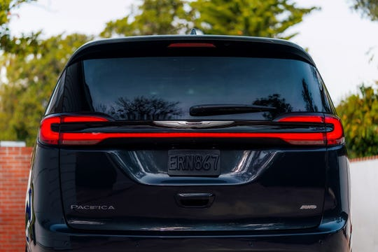 LED taillights are new for the 2021 Chrysler Pacifica lineup.