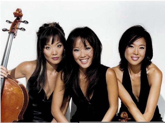 The Ahn Trio is up next in the Under the Beams series at Murphy Auditorium Saturday.