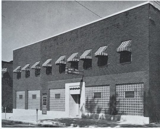 The News-Mesenger was once located on Arch Street in the 1960s.