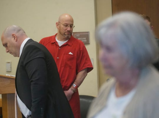Mark Sievers was denied a new trial in the murder of his wife Teresa Sievers during a hearing at the Lee County Courthouse in front of Judge Bruce Kyle on Wednesday.