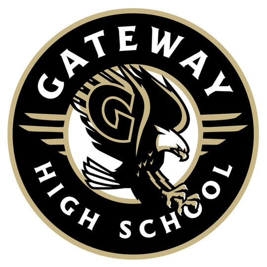 This logo represents the Gateway Eagles, the mascot of the now under construction Gateway High School in Fort Myers.