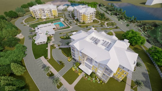 Oaks at Cypress Cove is open for sales with a projected 2022 opening near Health Park Medical Center.