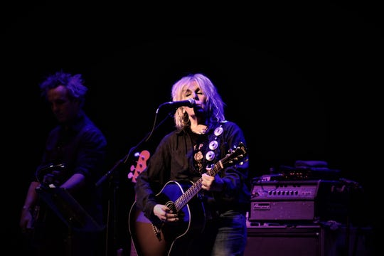 Lucinda Williams performed Tuesday at Barbara B. Mann Performing Arts Hall.