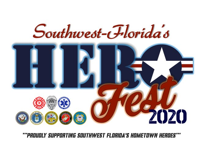 The logo for the new Southwest Florida's Hero Fest, which replaces the annual Lehigh Spring Festival.