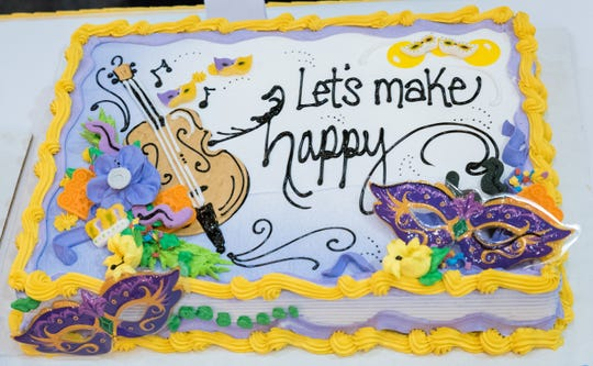One of Candice Gumm's mystery design done during Dairy Queen's biennial contest to name the company's best cake decorator.