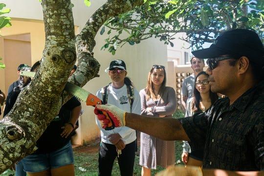 University of Guam Extension Agent Joseph Tuquero will lead a workshop on native plants Saturday.