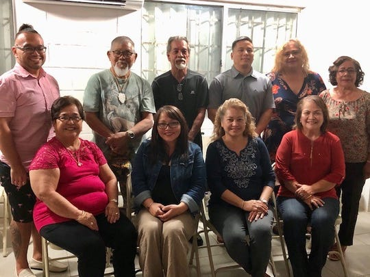 The 10 members of the Yona Municipal Planning Council on Feb. 5, 2020 took their oath of office and elected Brian J. Terlaje as vice chairman,  Rose Rene F. Guerrero as secretary, and Paz P. Cruz as treasurer.