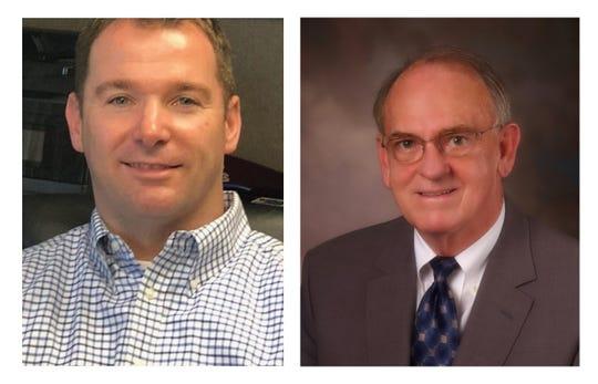 Brian Bishop, left, and Herb McKee